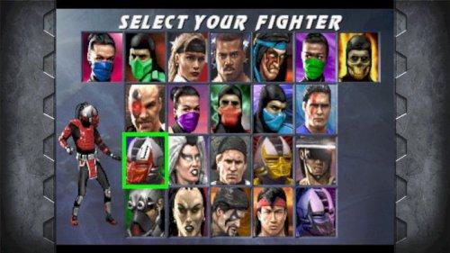 Mortal Kombat 10 et Mortal Kombat arcade.