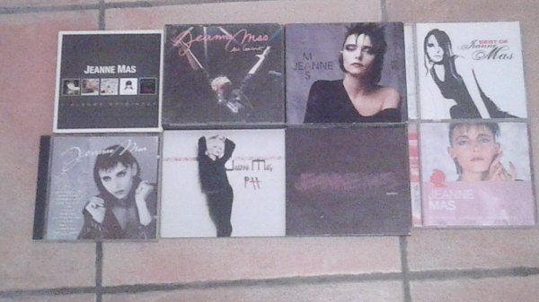 Ma collection CD du 7 janvier 2018 : Jeanne Mas