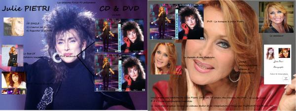 Les Editions Flo13 TV : Julie Pietri - CD/DVD/LIVRES