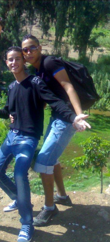 moi et mon ami simo