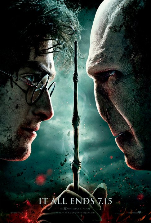 1er poster HP7 partie 2