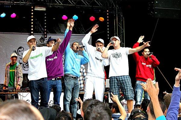 L'équipe Effet13pécial Live au parc des Bastion (19.06.2011)