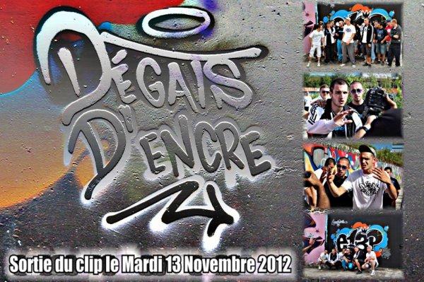 """Clip """"Dégats d'encre"""" le 13 Novembre 2012!!"""