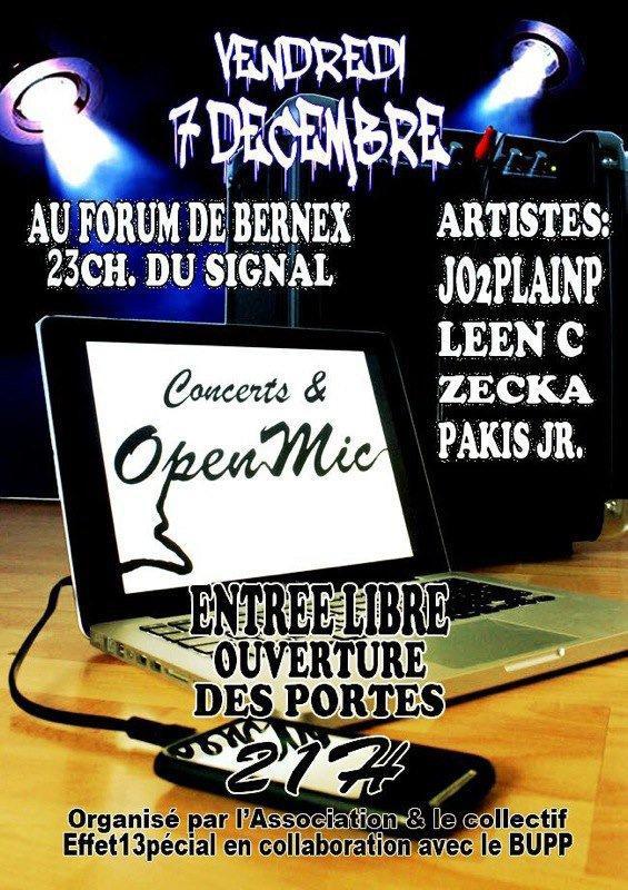 Flyers Concert & Open mic 13pécial #6