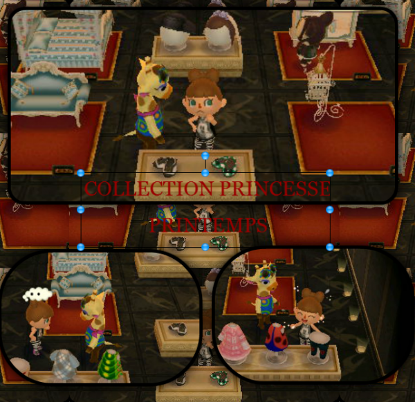 La Collection Princesse Animal Crossing New Leaf Acnl