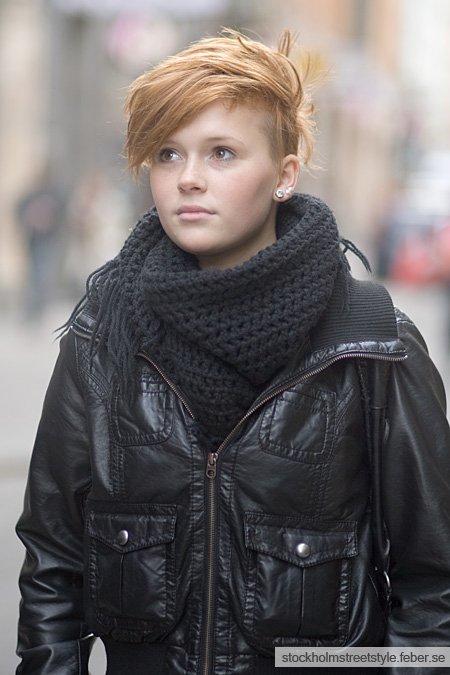 A la gar onne street fashion - Coupe garconne fille ...