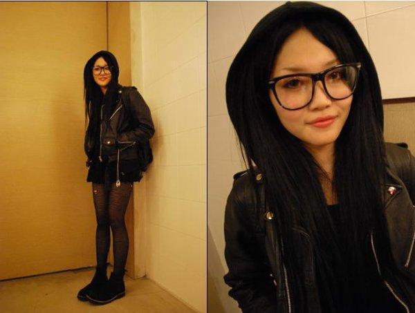 08ecfe77fe Bien que la mode des lunettes de vues oversized commence à s'essouffler, je  trouve qu'une paire de ce genre est toujours un accessoire sympa, surtout  pour ...
