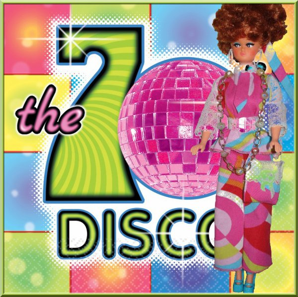 Disco poupée relookée