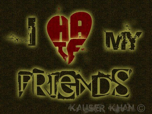 pour Tous mes amis
