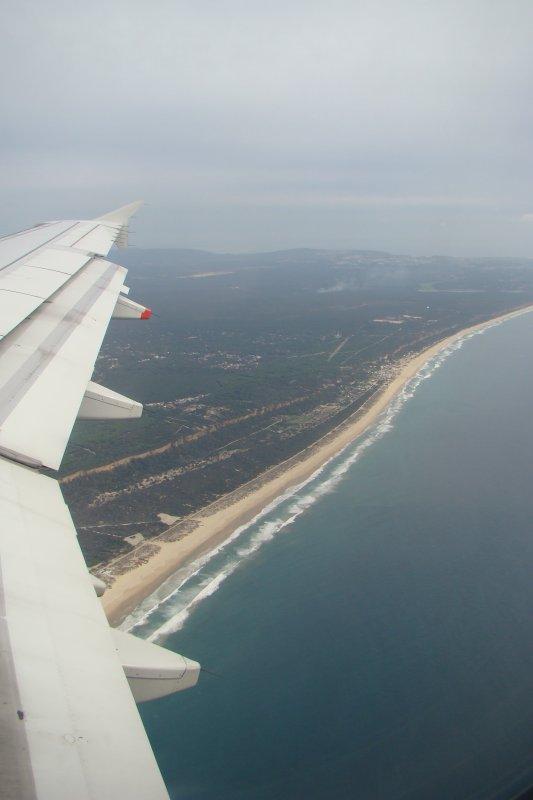 PORTUGAL - VUE DE L'AVION - NOVEMBRE 2012