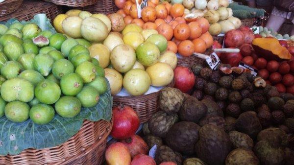 Marché coloré de Funchal