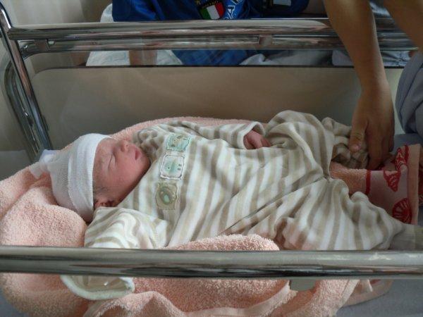aaron mon petit loulou a sa naissance