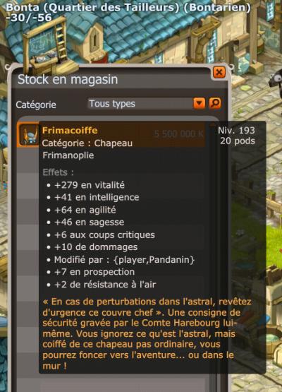 Achat Chaplignon & Vente frimacoiffe x)