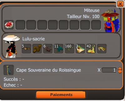 Don 4 culottes <3 & Craft cape roi :) <3