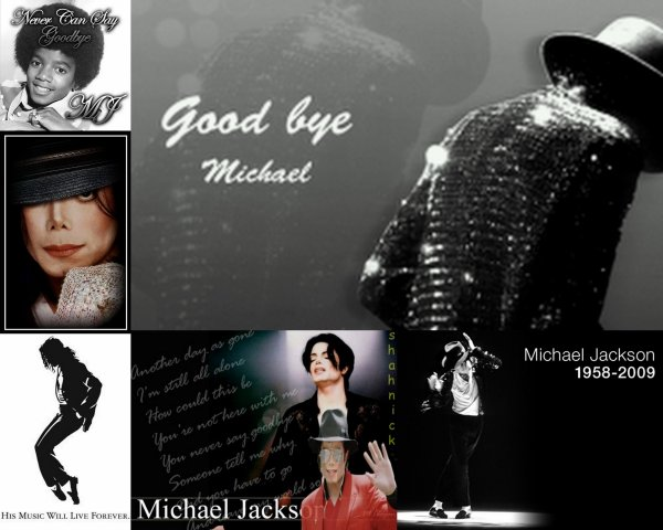 Never can say goodbye to you michael