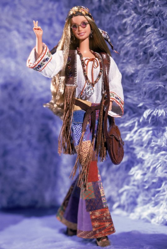 Barbie Peace & Love 70's - 2000