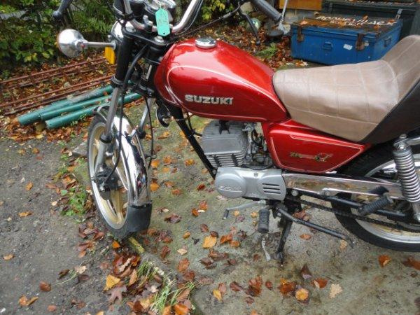 SUZUKI ZR 50 SLK 1982