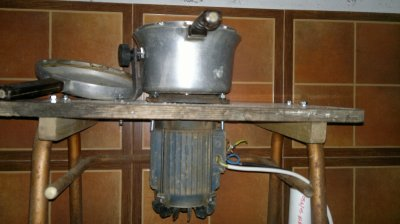 final de la maquina de hacer pasta
