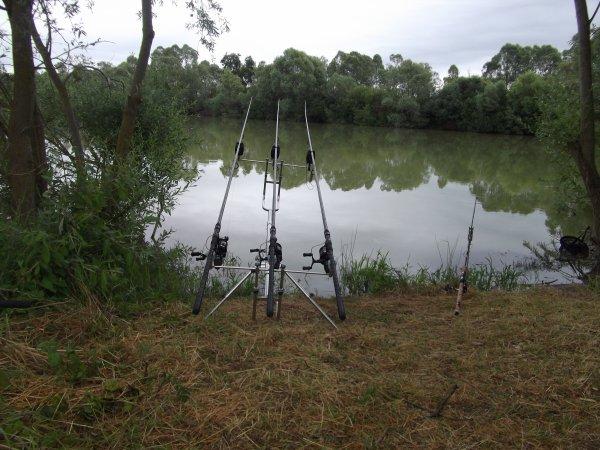 Session de pêche à la carpe le week end du 27 au 29 juin 2014