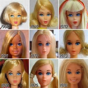 Visage de Barbie...l'ange coloré