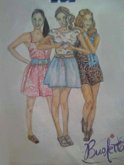 Mes filles en dessin ☺☺