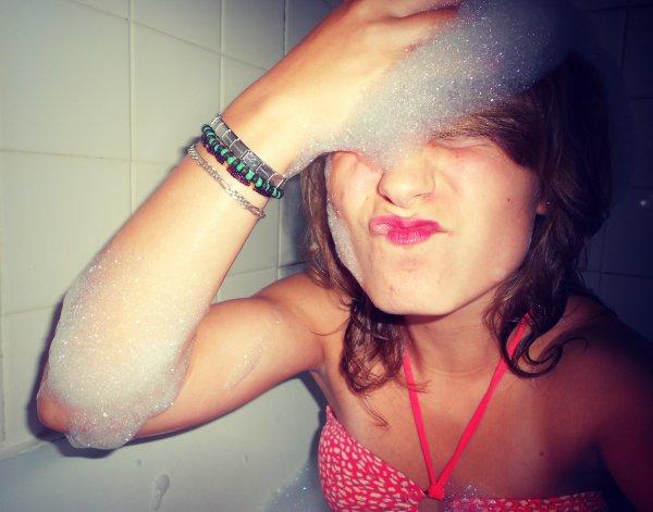 Les bulles sa montent à la tête .