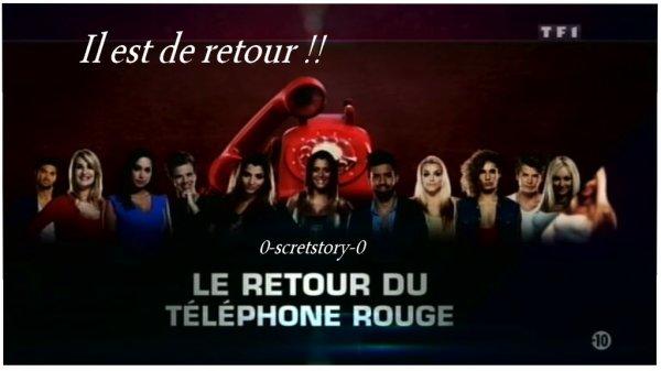 Le retour du Téléphone ROUGE !!