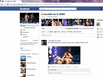 Du nouveau sur L'Actualité de la WWE !
