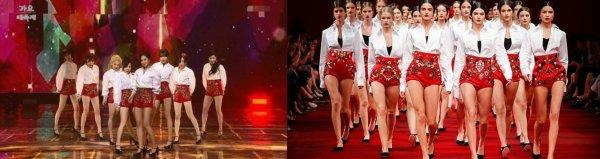 Girls 'Generation sous le feu pour avoir prétendument copier les créations de Dolce & Gabbana