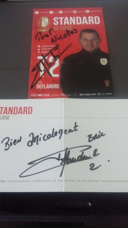 Eric Deflandre, ancien joueur de lyon