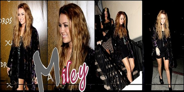 .         Miley Cyrus on Beverly Hills !     .