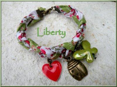 Bracelet liberty tressé