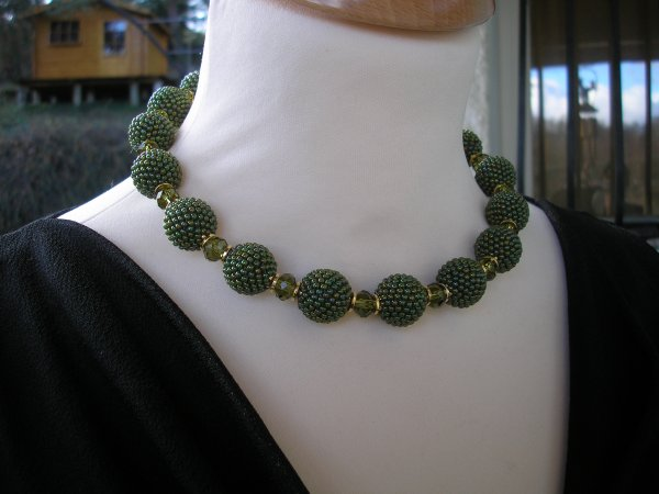 Ras de cou perles perlées