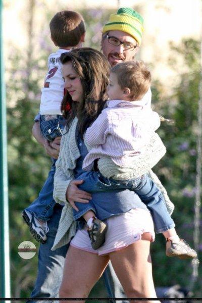 """Britney Spears et ses """"2 bou de choux"""""""