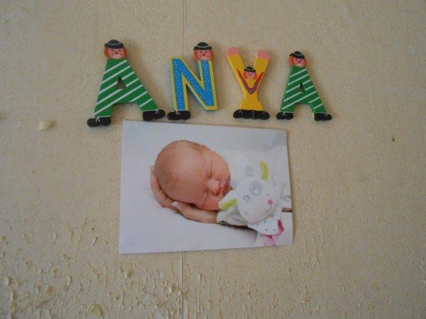 anya née le 22/07/2013