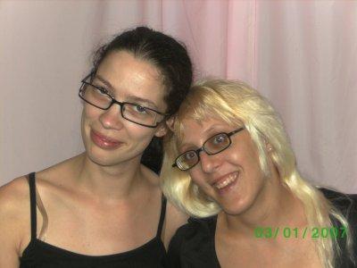 ma belle-soeur  et moi