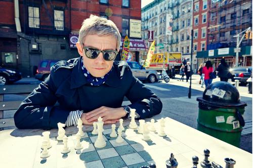 New Martin Freeman photoshoot
