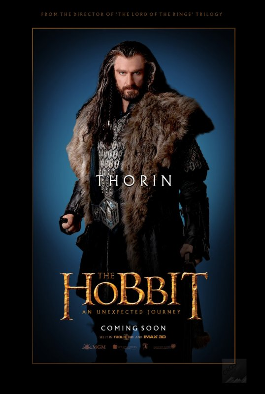Les personnages du Film The Hobbit