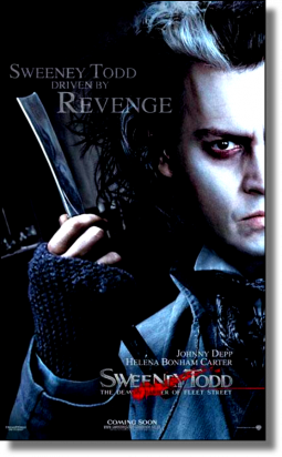Article #7  ~ Sweeney Todd. NewsLetter.   Blog Perso   Pub. ♥