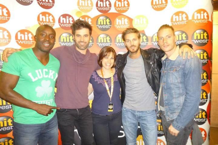 Dumè est aujourd'hui (26/06) à Rennes avec M.Pokora, Nyco Lilliu et Marc Antoine pour le Concert Hit West.
