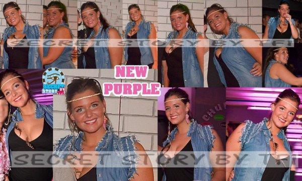 Aurélie au New Purple