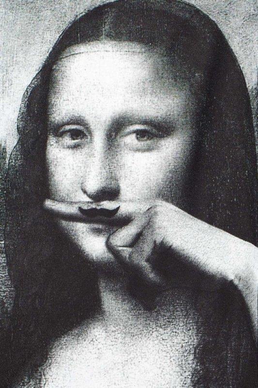 La Joconde a Moustache
