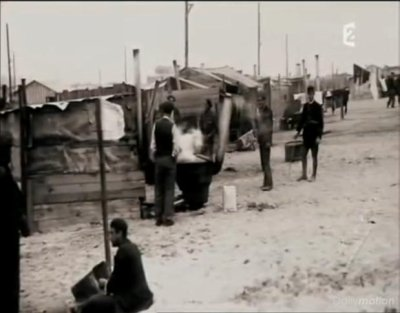 Conditions d'internement réfugiés espanols