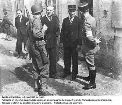 Le 6 juin 1944 à St Mère Église