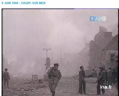9 juin 1944 : isigny sur Mer