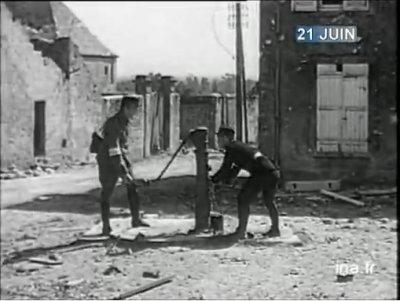 21 juin 1944 : Montebourg Valognes libéré