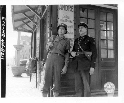 Cherbourg le 17 juillet 1944