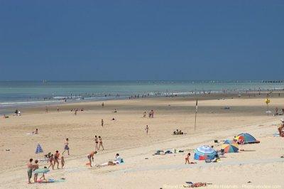 Les plages de Saint Jean De Monts...