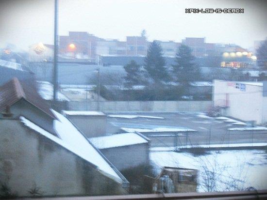 LEVER DU SOLEIL (avec un peu de neige)