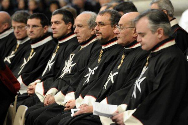 Le Pape encourage l'Ordre de Malte à poursuivre son ½uvre dans la société